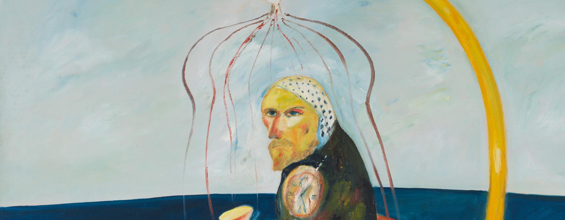 Caged Cockenzie Man