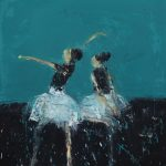 Dance Ii Cinderella 2017 Oil On Canvas 50X45Cm