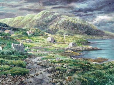 The city lay scattered (Harris)