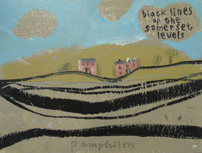 Black Lines of the Somerset Levels