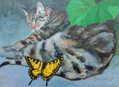 Cat and Swallowtail