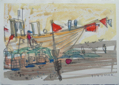 Boats and Markers, Algarve