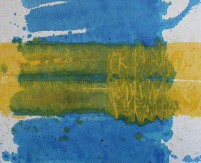 Ian Mckenzie Smith  Summer Water  Watercolour 48 X 64 Cm