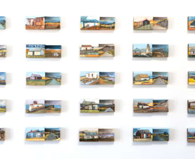 Archipelago Acrylic Found Objects In Matchboxes 2 Jayne Stokes
