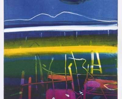 21 Benwee Fence 38Cm X 38Cm Paper Size 76Cm X 56Cm Monotypeweb