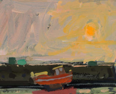 27 Red Boat Sunset 5474Web