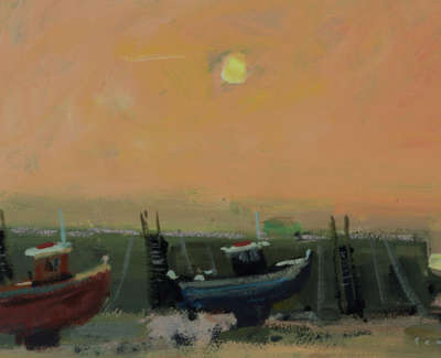 31 Fishing Boats Sunset 5505Web