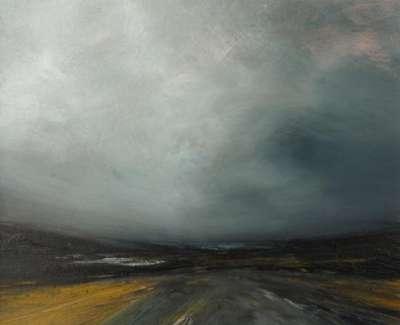 Dusky Gale Sky By Herra Yell