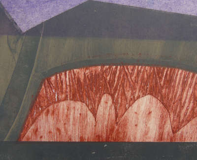Andrew Restall Quarry  Collagraph £150 00