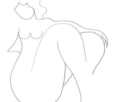 Adrian Wiszniewski Nude Graphite On Paper 24 X 24 Cm £1500