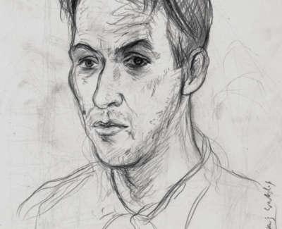 Adrian Wiszniewski Drawing 1987