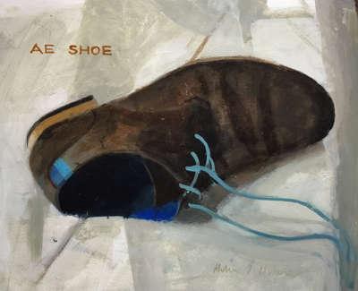 Ae Shoe  Oil On Board 20 X 28 Cm £1100 00