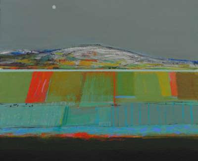 Autumn Fields 14X13 Archie D Mc Intosh Rsw Rgi