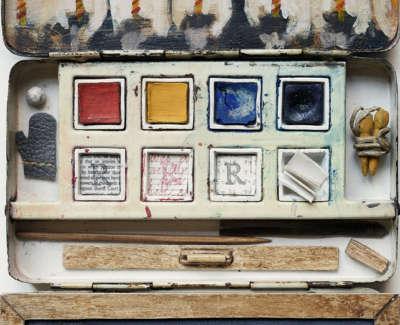 Bairnsang  Mixed Media In Watercolour Tin 23 X 14 Cm £1200 00