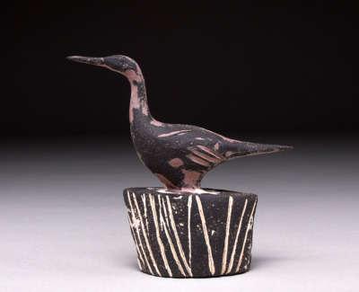 Bird Stoneware Maquette 10Cm H