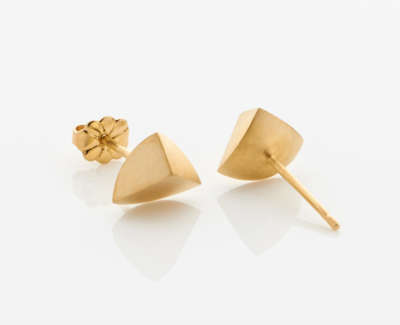 Bloom Earrings 18Ct Gold Plate