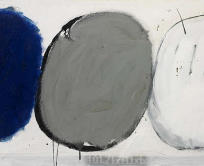 Blue Grey White Ii Jb 012