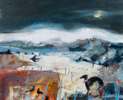 C Woodside Winter Chill Mixed Media 58 5X61Cm