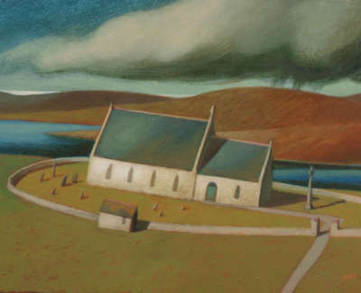 Church At Stenness By Neil Macdonald