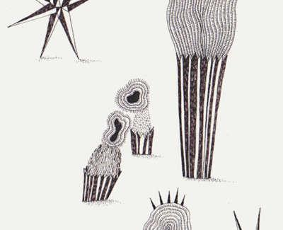 Cassiopeias Cupcakes Pen On Paper 21 5 X 13Cm £195
