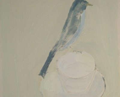 Celadon Bird 41X46Cmweb