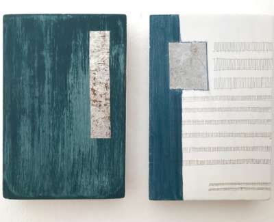 Conceal Reveal Diptych
