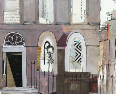 Corner Of Drummond Place Edinburgh 19 X 18 Cm £325