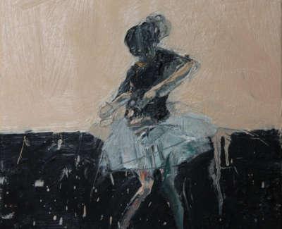 Dance Movement Iii 2017 Oil On Canvas 30X30Cm