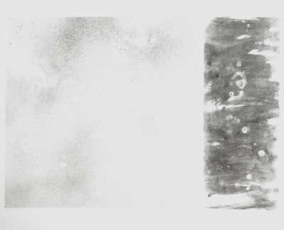 Dappled Tide  Watercolour On Canvas 82 X 122 Cm £4500 00