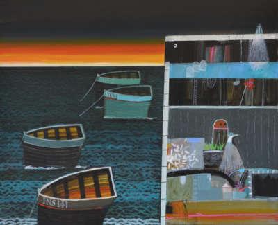 Dawn Sail 15X14 Archie D Mc Intosh Rsw Rgi