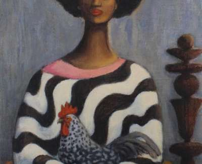 Diane Rendle A Country Rooster Would Not Crow Whilst In Town For Web