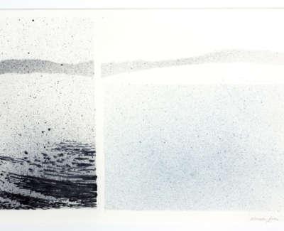 Drifting Calm  Watercolour 27 X 40 Cm £780 00