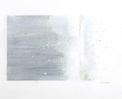 Edge  Watercolour On Board 37 X 49 Cm £850 00