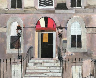Edinburgh Doorway 19 X 18 Cm £325