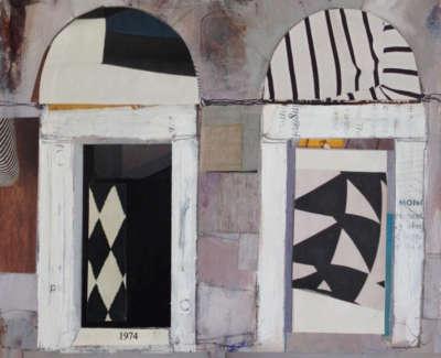 Edinburgh New Town Doorways 15 X 16 Cm