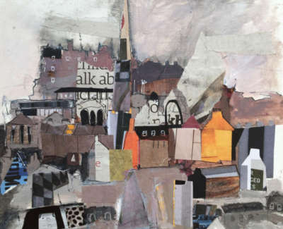 Edinburgh Old Town 19 X 18 Cm £325