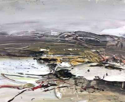 February Light Morven Oil On Paper 21 X 15 Cm