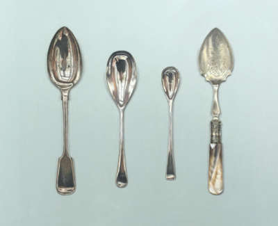 Four Small Spoons
