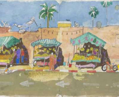 Fruit Stalls Marrakechweb
