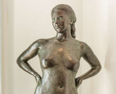 Gaia Life Sized Standing Nude