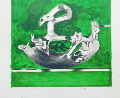 Graham Vivian Sutherland Swan Like Form