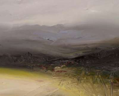 High Moorland Inverey Oil On Board 40 X 30