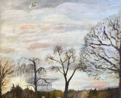 How The Trees Scrape The Clouds 50X70Cm