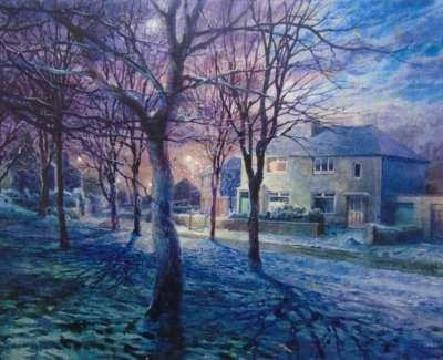 In The Evening When The Work Was Over Firhill Edinburghweb