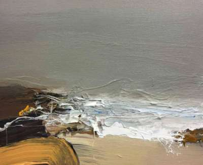 Incoming Tide Storm Beachweb