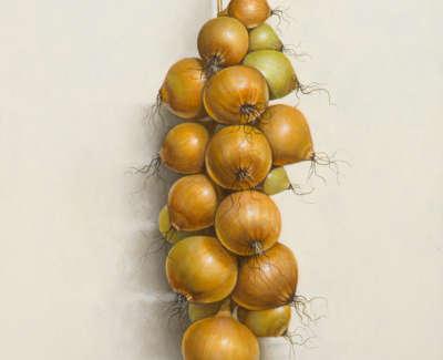 James Fairgrieve Rsa Rsw Onions Ii Acrylic On Gesso On Board 60 X 46 Cm £3200