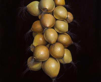 James Fairgrieve Rsa Rsw Onions Iii Acrylic On Gesso On Board 58 X 43 Cm £3100