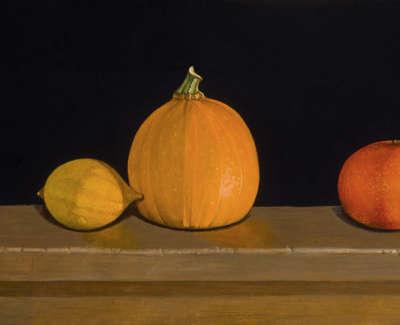 James Fairgrieve  Apart  Acrylic On Gesso On Board 22 X 45 Cm £2700 00