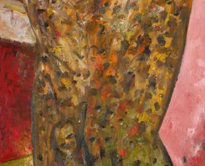 Juliet Oil On Canvas 1979 183X31Cm