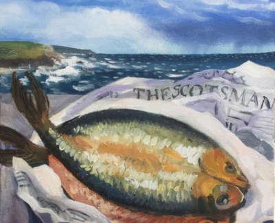 Kippers And Mackerel Sky